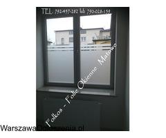 Folia na okno w łazience -Oklejanie szyb łazienkowych Folkos Warszawa - Image 6