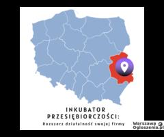 Biuro w Lublinie pod wynajem (inkubator) za 999 zł.