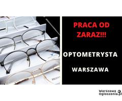 Poszukujemy Optometrysty! Praca od zaraz!!