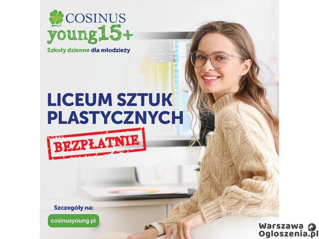 LICEUM SZTUK PLASTYCZNYCH COSINUSYOUNG 15+ - 1