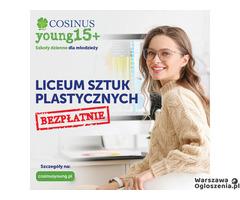 LICEUM SZTUK PLASTYCZNYCH COSINUSYOUNG 15+