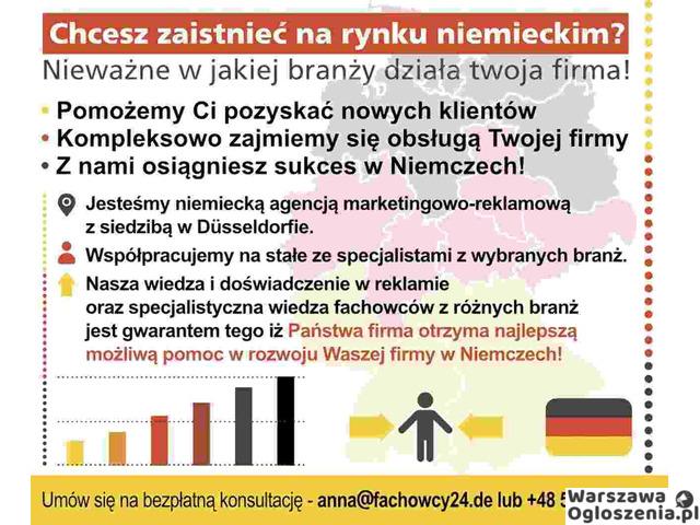 Chcesz zaistnieć na rynku niemieckim? - Koniecznie sprawdź!!! - 1
