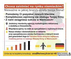 Chcesz zaistnieć na rynku niemieckim? - Koniecznie sprawdź!!!