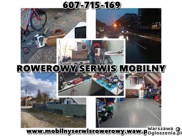 Mobilny Serwis Rowerowy, Rowery Konstancin Józefosław Warszawa - PROMOCJA JESIENNA - 1