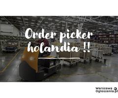 Order picker - praca w Holandii- od zaraz