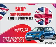 Skup Anglików, Skup Aut z Anglii #Warszawa i okolice# Najwyższe Ceny!