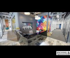 Biurka i biura coworking wynajem Ursynów COlorful WORK