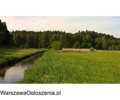 Działka nad rzeką - Bory Tucholskie