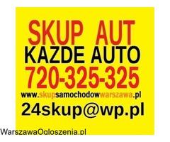 SKUP AUT WARSZAWA 720-325-325 MAZOWIECKIE Z DOJAZDEM