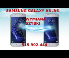 Samsung Galaxy A8 2016 Samsung A8 2018 wymiana szybki dotyk